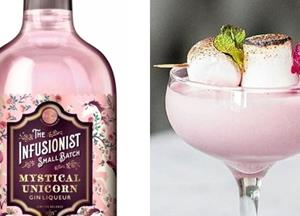 Aldi Is Now Selling A Shimmery Pink Unicorn Gin That Tastes Of Candy Floss And Marshmallow
