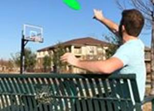Incredible frisbee trickshots