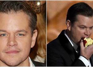 Matt Damon lost 60 pounds by eating the same food every single day