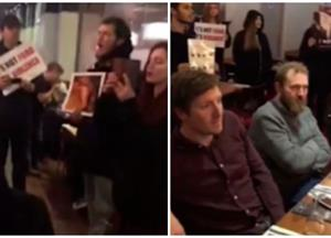Vegan Protestors Storm Steakhouse And Force Guests To Listen To Sounds Of Animal Slaughter