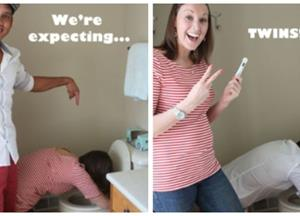 Utterly Adorable Pregnancy Announcements That